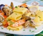Ricetta del cuoco Calamarata ai frutti di mare
