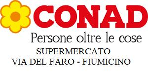 SUPERMERCATO CONAD - VIA DEL FARO - FIUMICINO