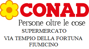SUPERMERCATO CONAD - VIA TEMPIO DELLA FORTUNA - FIUMICINO
